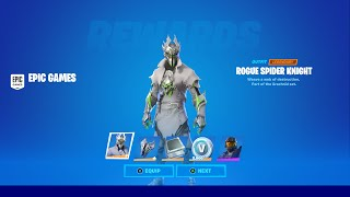 FORTNITE NEW ROGUE SPIDER KNIGHT SKIN! HOW TO GET NEW ROGUE SPIDER KNIGHT! ROGUE SPIDER KNIGHT STYLE