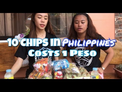 10 Chips in Philippines costs 1 PESO |  KC PEREZ ILAO