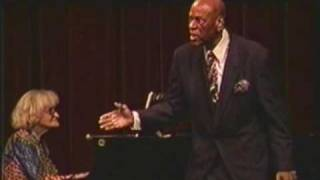"William Warfield performs ""Scandalize My Name"" by Harry Burleigh"