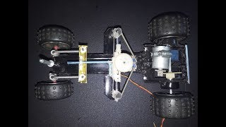 How To Make Rc Car | Rc Car Steering at Home