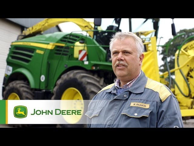 John Deere Selbstfahrende Feldhäcksler 8000er Serie: Empfehlung