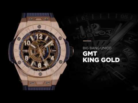HUBLOT - BIG BANG UNICO GMT KING GOLD