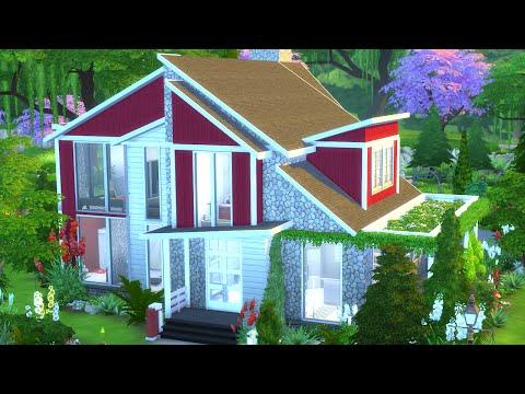 The Sims 4 House Build | Swedish Home w/ NANDO