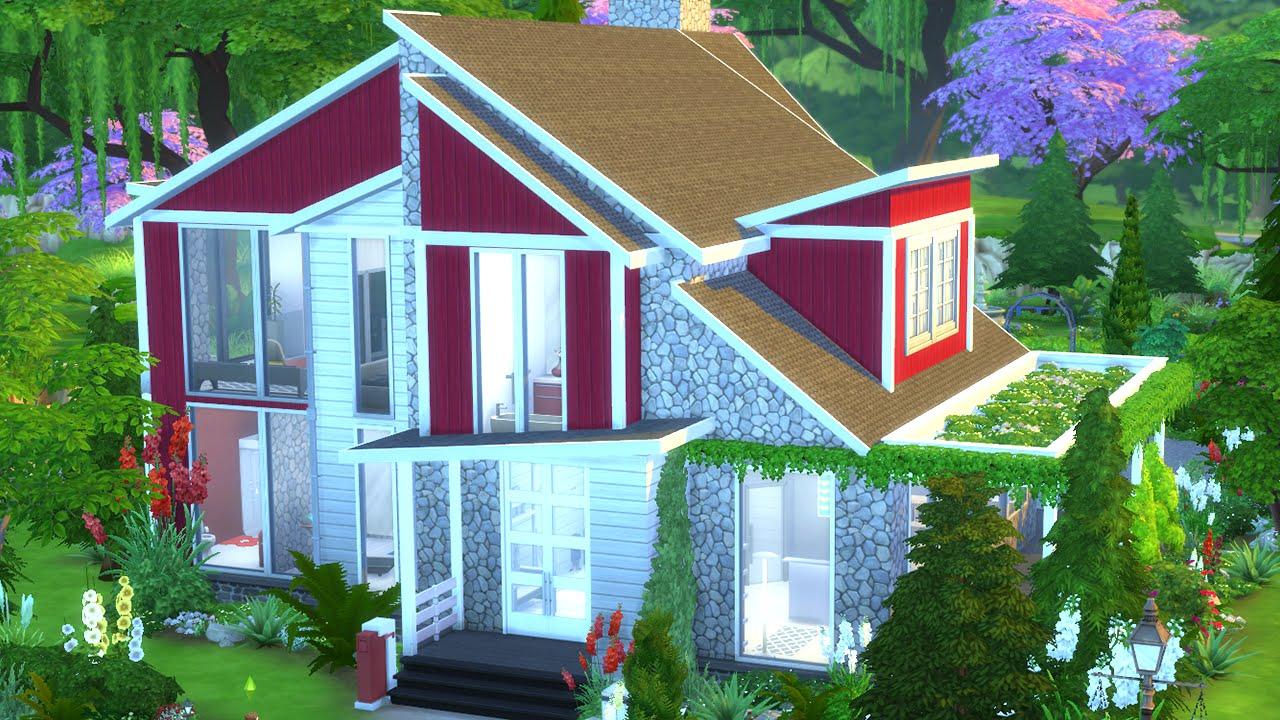 The Sims 4 House Build Swedish Home W NANDO YouTube
