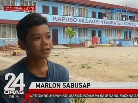 Binatilyong suma-sideline bilang janitor, ga-graduate sa Kapuso Village Integrated School