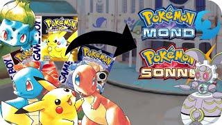 Pokémon-Tausch von ROT/BLAU/GELB auf SONNE/MOND - Probleme und Lösungen