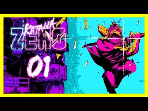 """Samurai Dreams"" Katana ZERO Gameplay PC Let's Play Part 1"