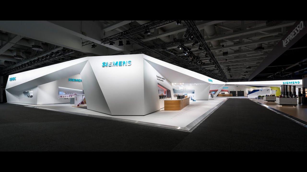 Exhibition Stand Logo : Siemens ifa berlin youtube