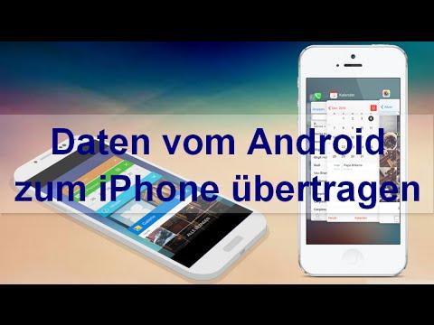 Smarter switchen: Kontakte, Kalender, Fotos und Musik vom Android auf das iPhone übertragen
