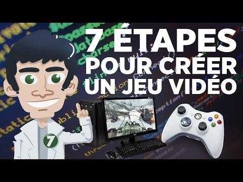 7 étapes pour créer un jeu vidéo