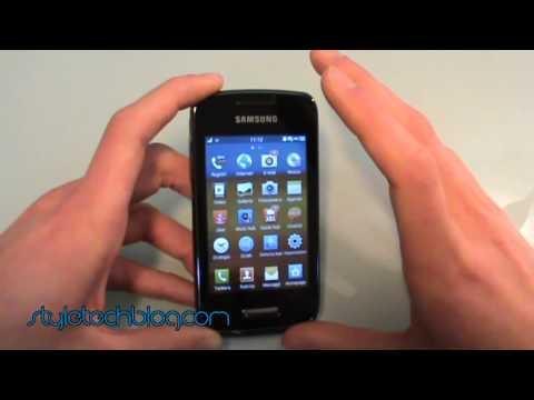Video recensione italiana Samsung Wave Y S5380D (bada 2.0)_Style Tech Blog