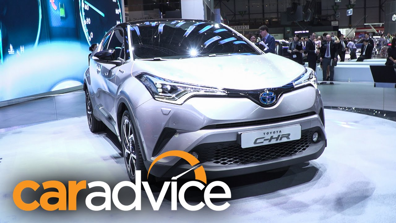 2017 toyota c hr hybrid suv concept 2016 geneva motor show youtube. Black Bedroom Furniture Sets. Home Design Ideas
