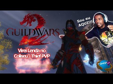 """Me tornei a Lenda do Coliseu"" Thief S/D PVP [Guildwars 2] Omega Play"