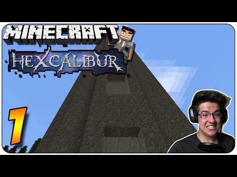 Minecraft HEXCALIBUR #1 - Ein WILDER ANFANG =D + Tower!!! | GoP
