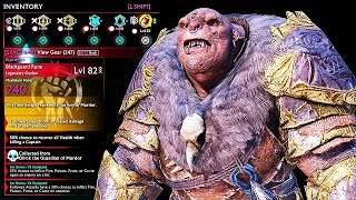 SHADOW OF WAR - NEW UNIQUE SAVIOR MARAUDER OVERLORD DIFFICULTY NEMESIS IN DESERT