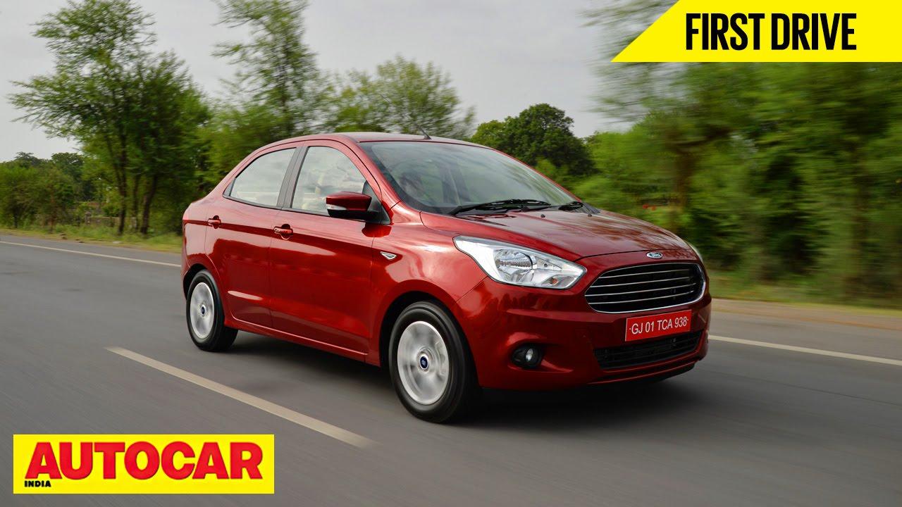 Ford figo aspire first drive autocar india youtube