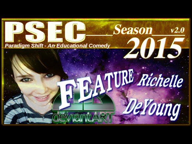 PSEC - 2015 - deviantART Feature: Richelle DeYoung