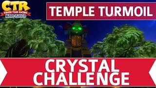 Crash Team Racing Nitro Fueled (CTR) - Temple Turmoil Crystal Challenge Walkthrough