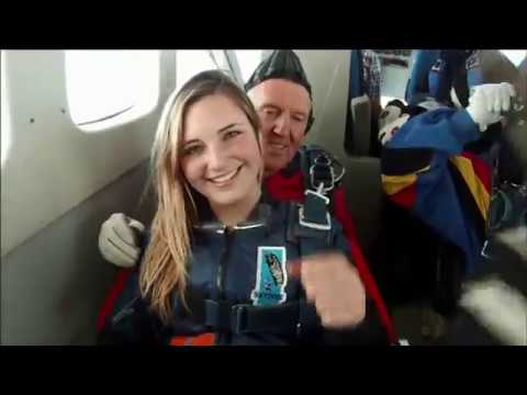 Skydiving first time 2014 SO EXCITED!!!!
