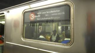 NYC Subway Special: Harlem-bound R62 (3) Entering & Leaving 23rd Street