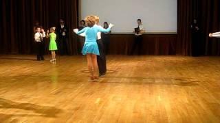 Танцевальный турнир.2011.(полька)Дети 6 лет