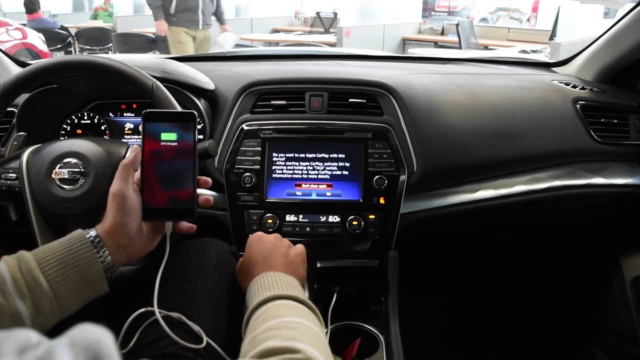 CarPlay Tutorial | 2017 Nissan Maxima | CarPlay Features