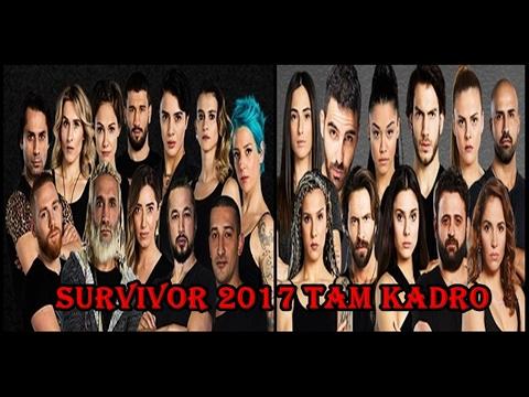survivor 2017 kadrosu fotoğraflı isim isim tam listesi