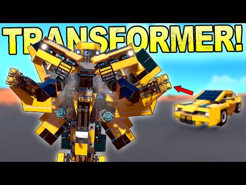 The Best Transformer I've Seen In This Game So Far! [BEST CREATIONS] - Trailmakers Gameplay