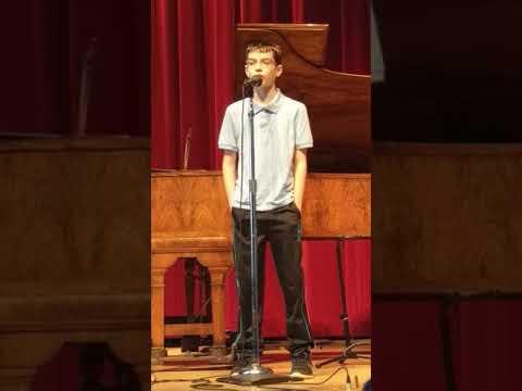 Gavin's Vancouver Music Academy Recital