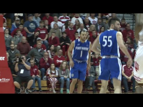 IPFW's Bryson Scott beats Indiana again full interview on 12/18/17