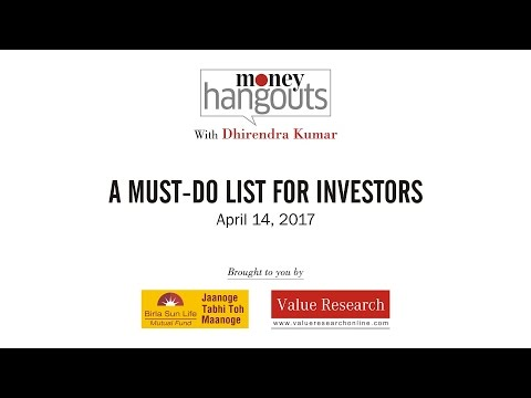 A must-do list for investors