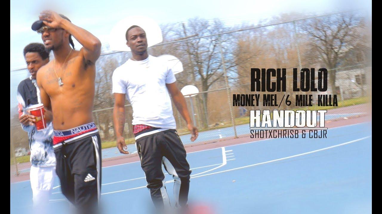 Download RICH LOLO/MONEY MEL/6 MILE KILLA - HAND OUT (OFFICIAL MUSIC VIDEO) SHOTXCHRISB & CBJR