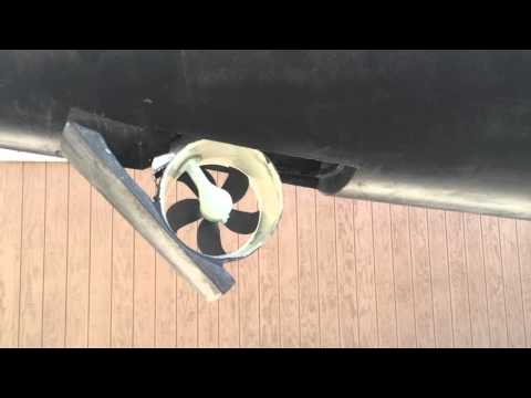Pandora's Lewmar bow thruster