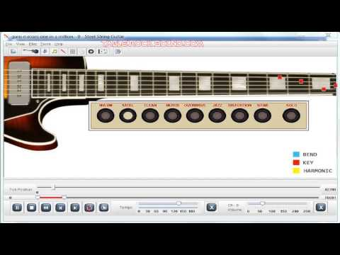 Guitar Lesson Tutorial One In A Million   Guns N Roses