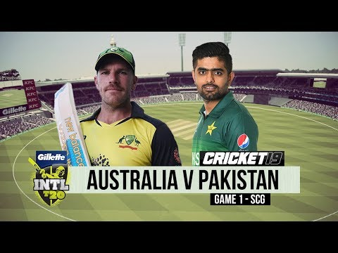 Australia v Pakistan - T20 Game 1 - Cricket 19
