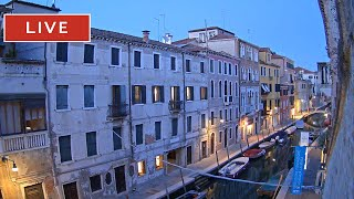 Venice Italy Live WebCam - The View on Canal from Hotel Pausania