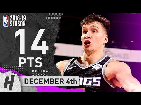Bogdan Bogdanovic Full Highlights Kings vs Suns 2018.12.04 - 14 Points off the Bench!