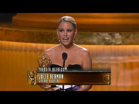 Julie Marie Berman 2010 Emmy win