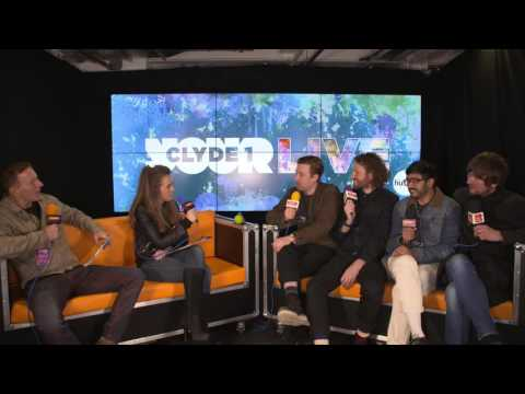Clyde 1 LIVE 2016 Kaiser Chiefs Interview