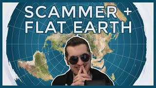Tech Scammer VS Flat Earth Family