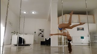 Pole Dance Choreography - Eyes Closed (Beginner/Intermediate)