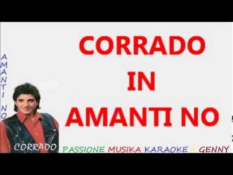 CORRADO Amanti no karaoke
