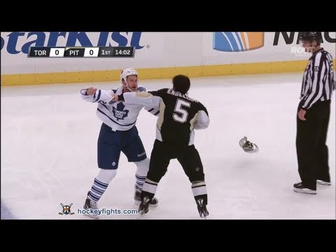 Colton Orr vs Deryk Engelland Jan 23, 2013