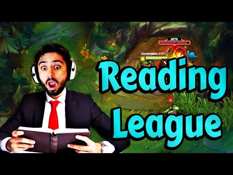 Shaclone - READING LEAGUE OF LEGENDS