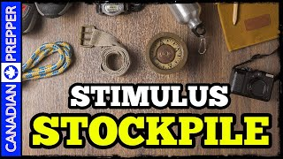 10 Preps to STOCKPILE with Your STIMULUS Check