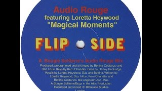 Audio Rouge / Magical Moments(Bougie Soliterre