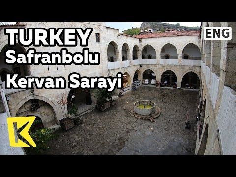 【K】Turkey Travel-Safranbolu[터키 여행-샤프란볼루]쉼터 케르반 사라이/UNESCO/Cinci Han Hotel/Kervan Sarayi