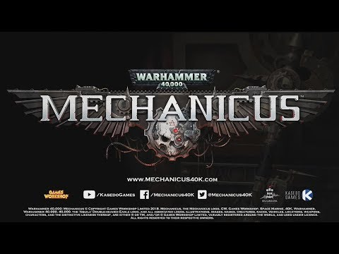 Video game announced - Warhammer 40,000: Mechanicus