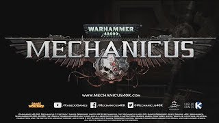 New WH:40K Video game announced! Warhammer 40,000: Mechanicus!