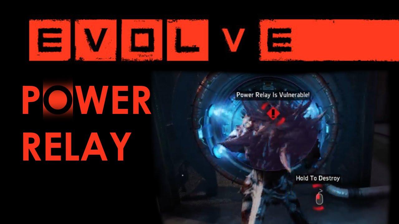 Evolve Alpha Gameplay Monster Power Relay 01 YouTube - Power Relay Evolve
